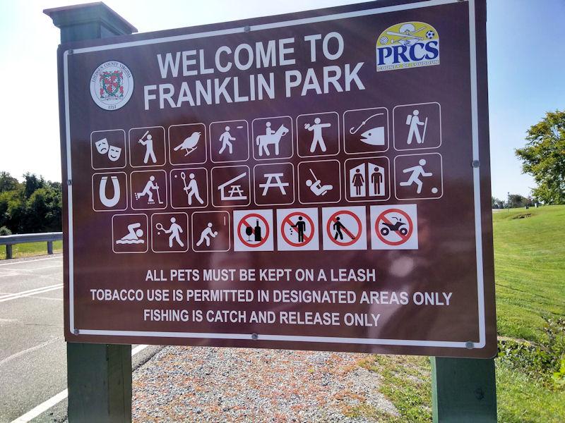 Franklin PK Sign