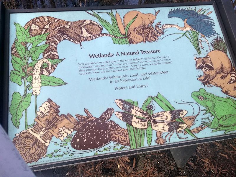 Sign @ Wetlands Entrance