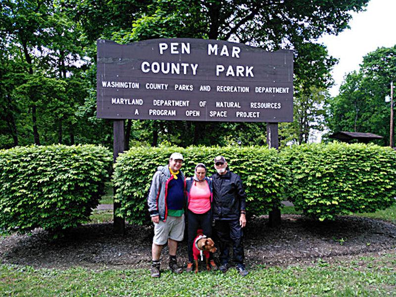 Group pic @ PenMar Park, MD