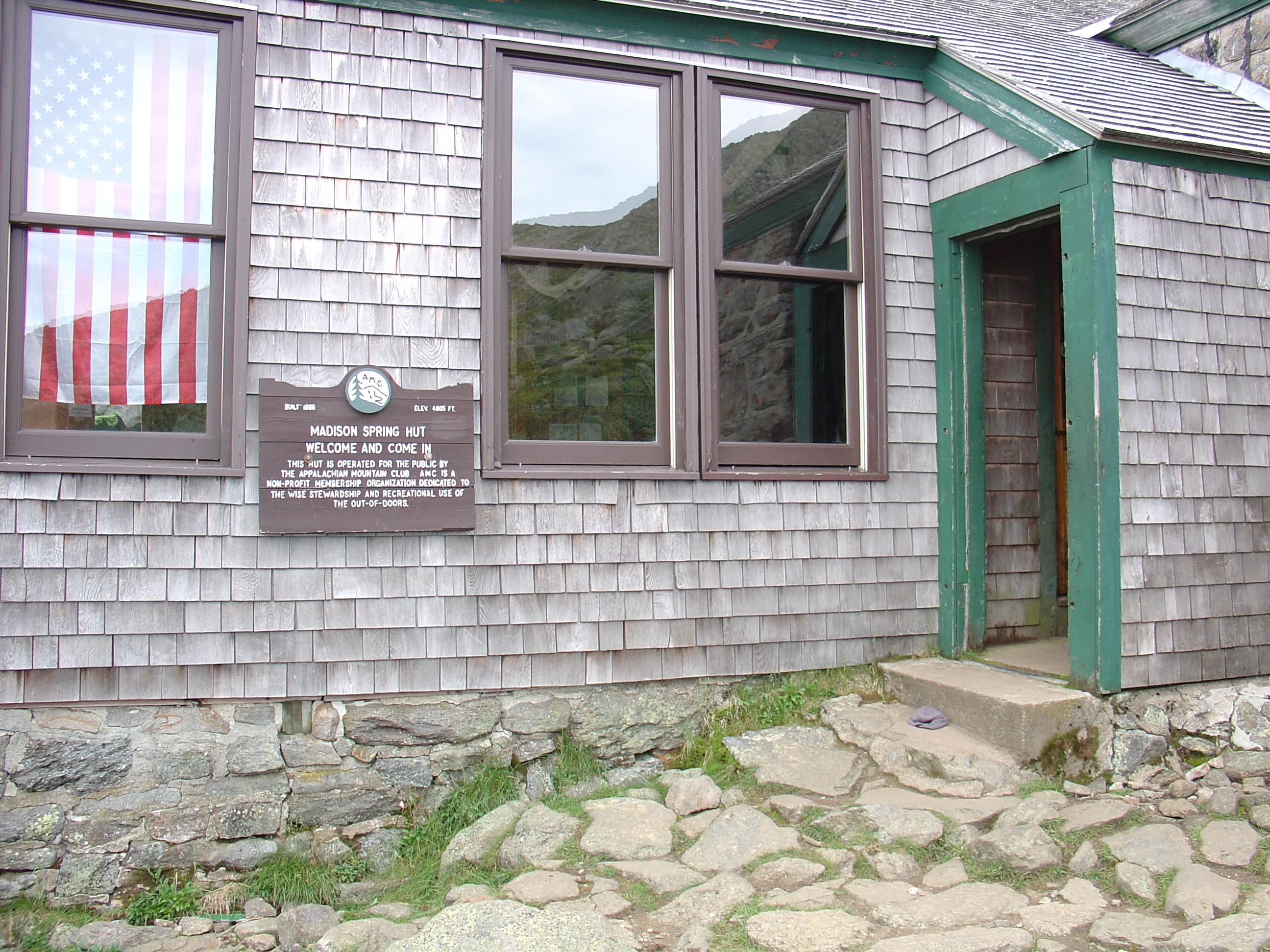 Old Madison Spring Hut, NH