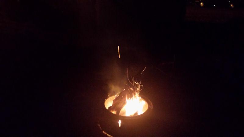 Fire pit @ R&D Family CG, VA