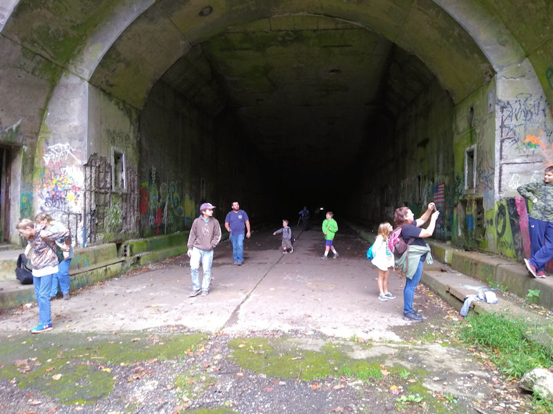 Eastern side, Rays Hill Tunnel