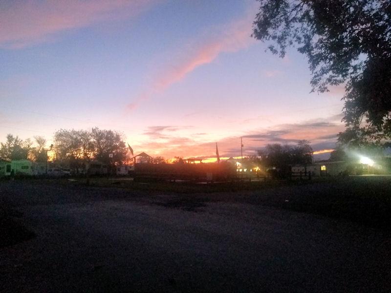 Nice Sunday morning sunrise