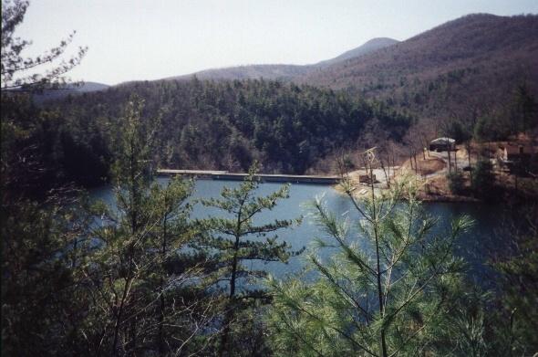 Behind Pedlar Dam, VA