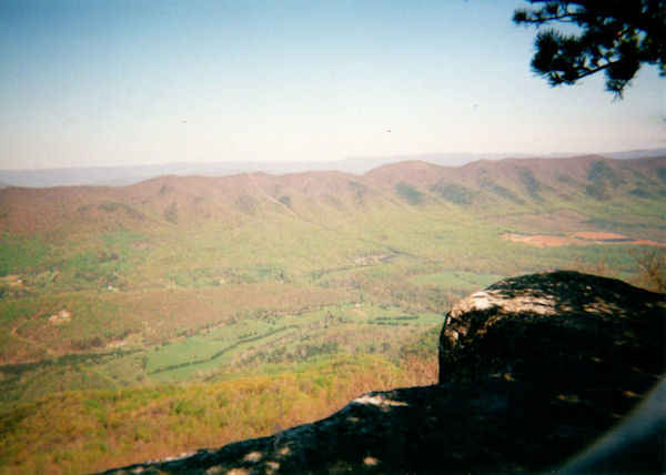Another view from Tinkers Cliff, VA