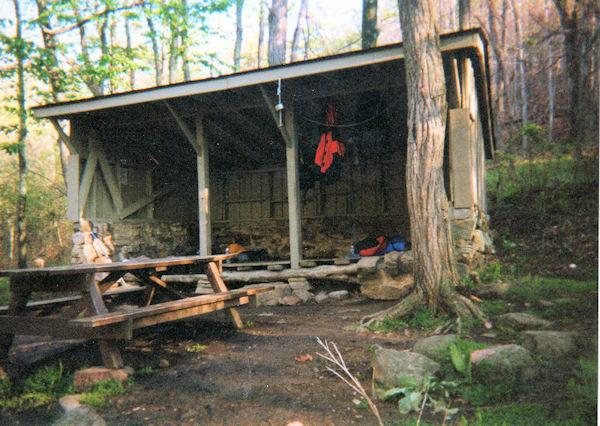 Lamberts Meadow Shelter, VA