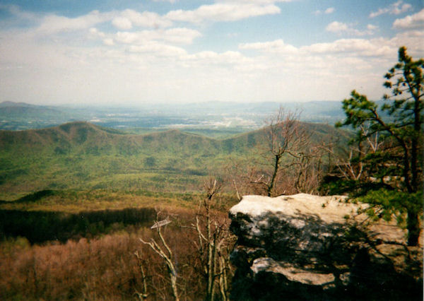 View from McAfees Knob, VA