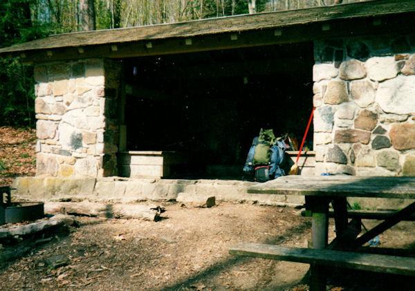 Pine Swamp Branch Shelter, VA