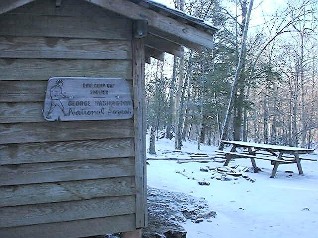 Cow Camp Gap Shelter, VA