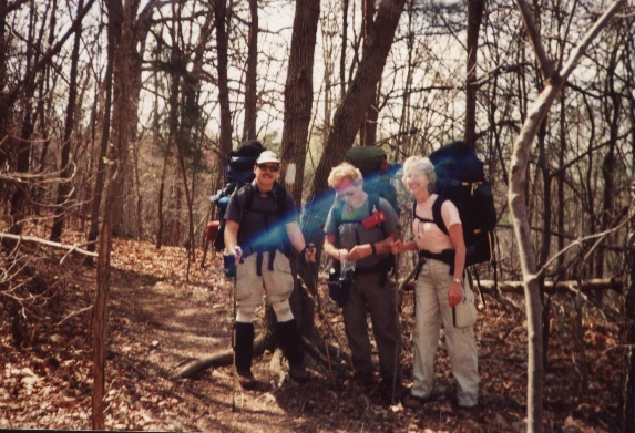 Group picture at start of hike