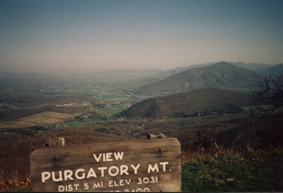 Purgatory Mtn. overlook