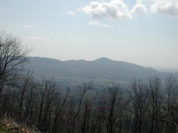 Scenic view along BRP