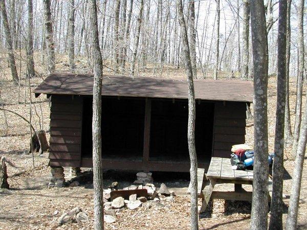 Wilson Creek Shelter, VA