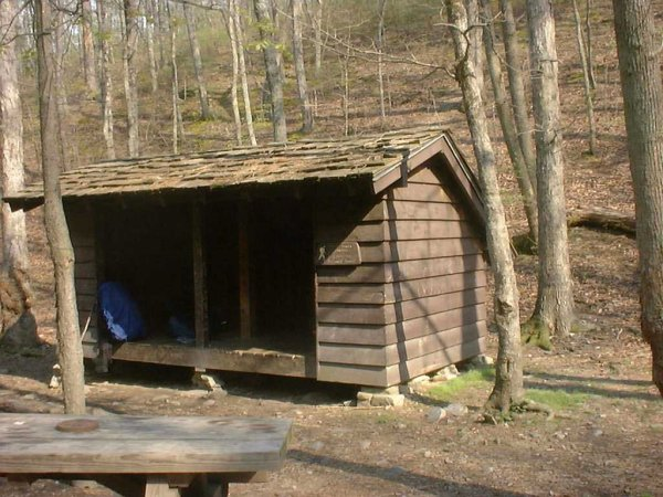 Matts Creek Shelter, VA