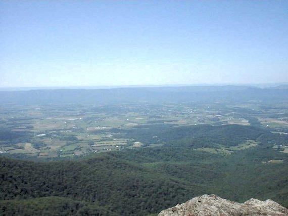 Westward view, SNP, VA