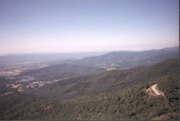 View from Stony Man Mtn, SNP, VA