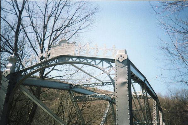 Sign on old bridge @ Swatara SP, PA