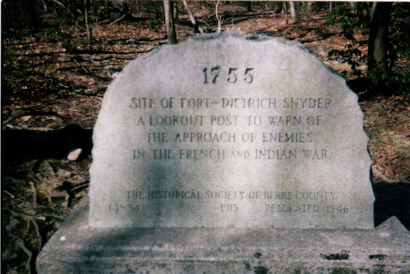 FT Dietrich Snyder Monument near PA183