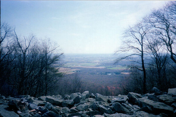View from AT in Central PA