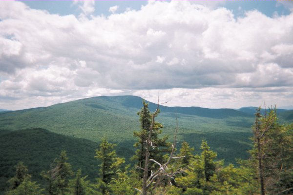 View from Mt Moosilauke, NH