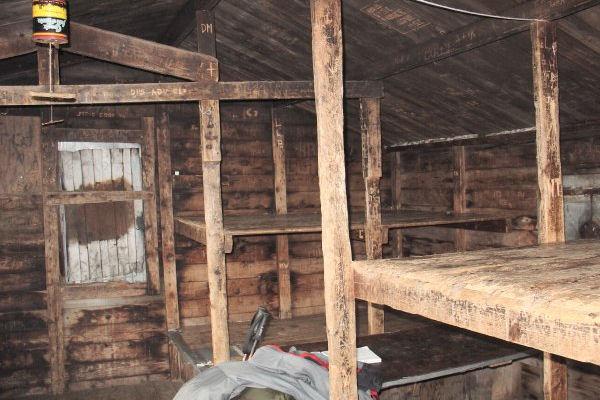 Interior of Pico Camp Shelter, VT