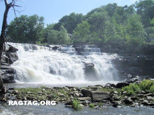 Falls near Falls Village, CT