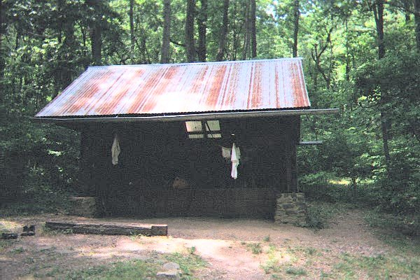 Rod Hollow Shelter, VA