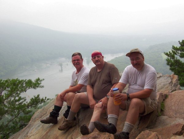 Charlie, John & Mike @ Weverton Cliffs, MD