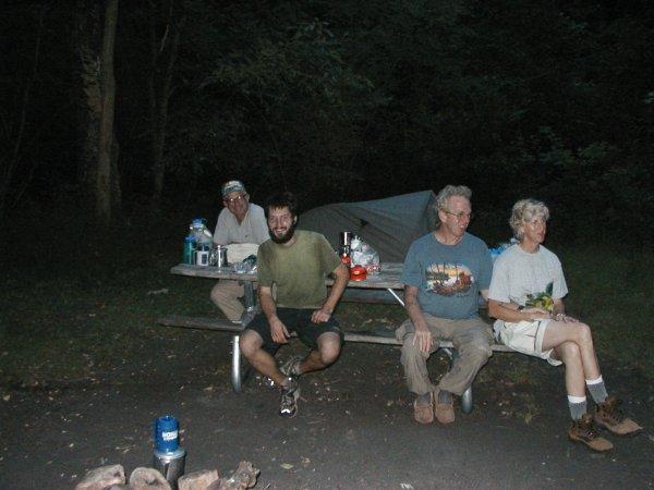 Southbound thru-hiker 'Willie McGee'