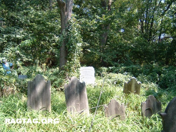 Chambers family cemetery along AT