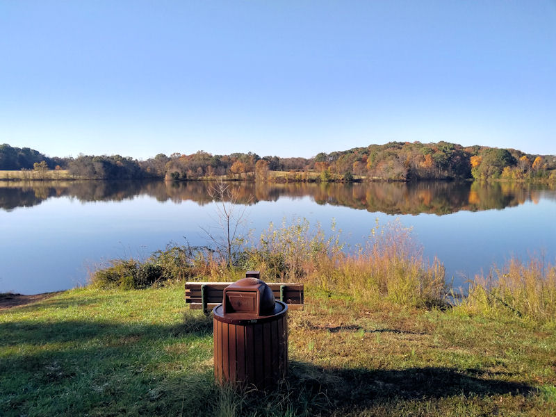 Scenic view from Bluebird Trail, VA