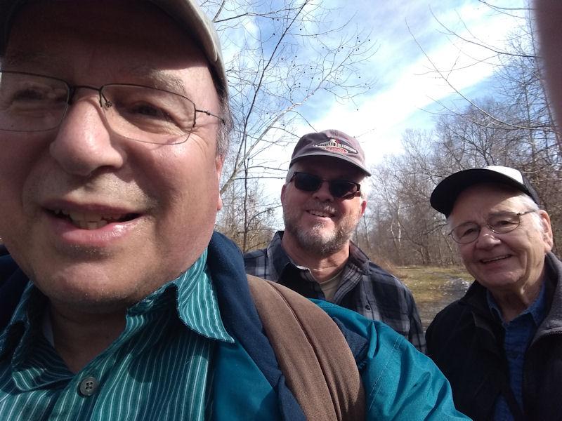 Group pic, beginning of Sunday hike