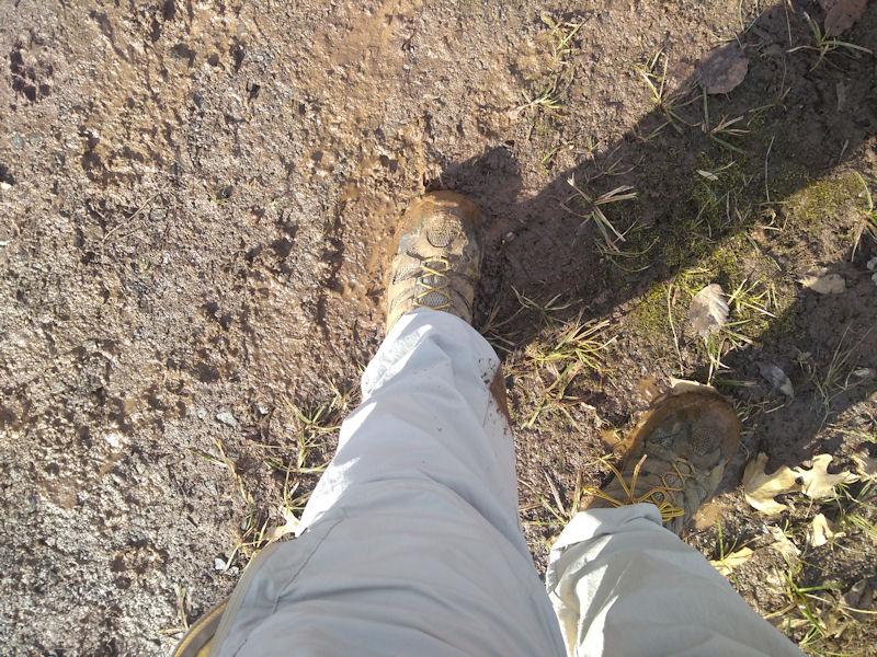 My muddy boots & pants
