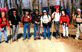 Group picture at beginning of hike.