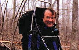 John L. on the trail.
