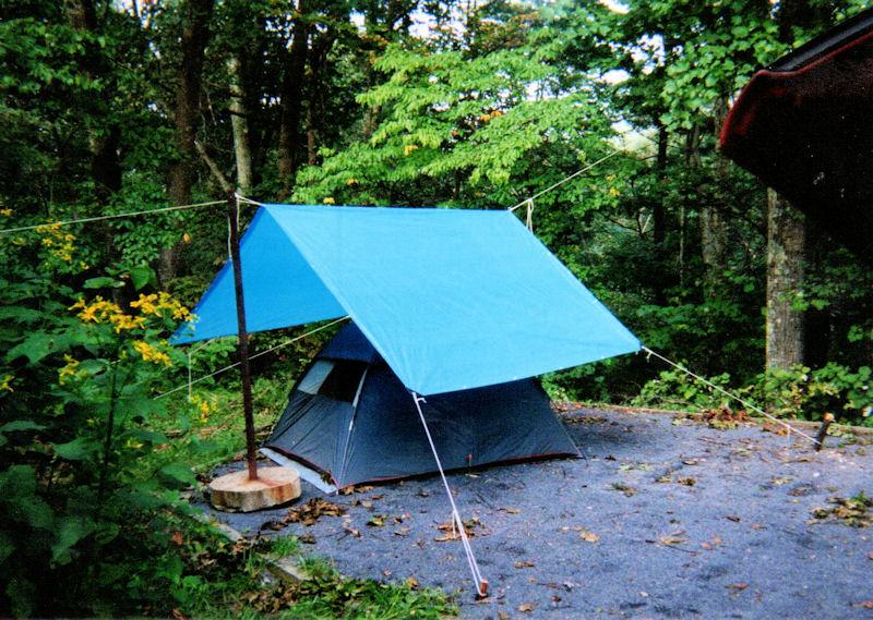 My tent @ Camp Roosevelt, VA