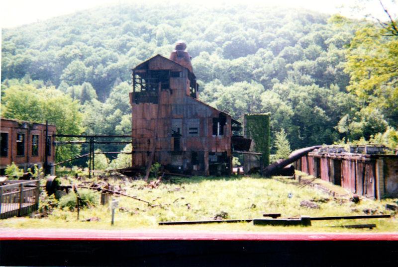 Sawmill ruins at Cass, WV