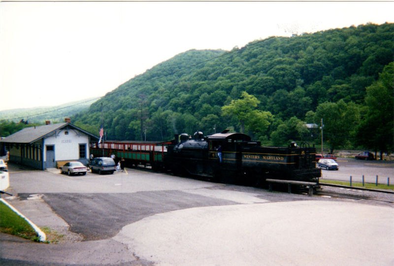 Our train at CSRR