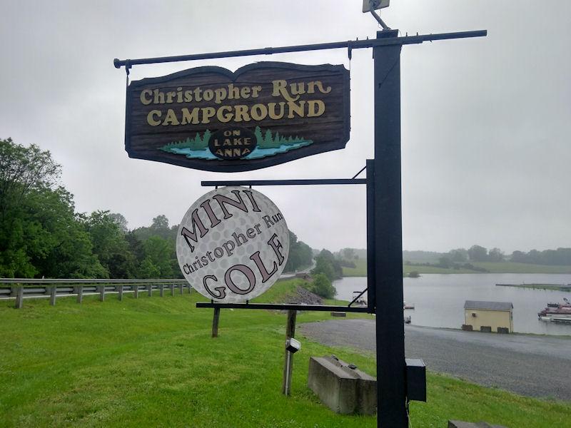 Sign @ Christopher Run CPD, VA