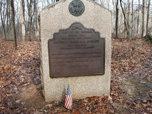 Monument near Big Round Top