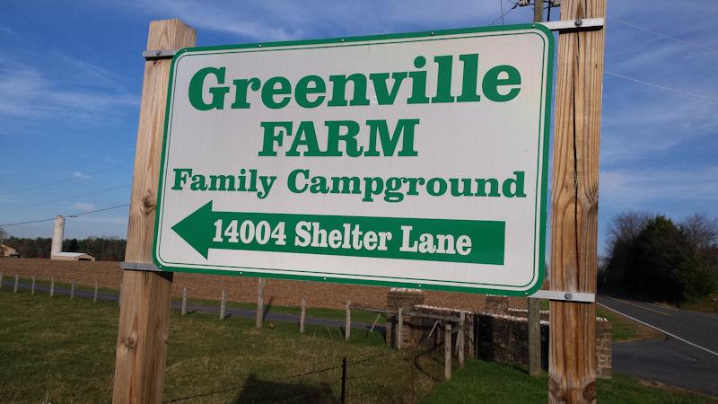 Sign @ Greenville Farm CG, VA