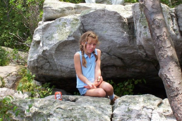 Madelyn at Annapolis Rocks, MD