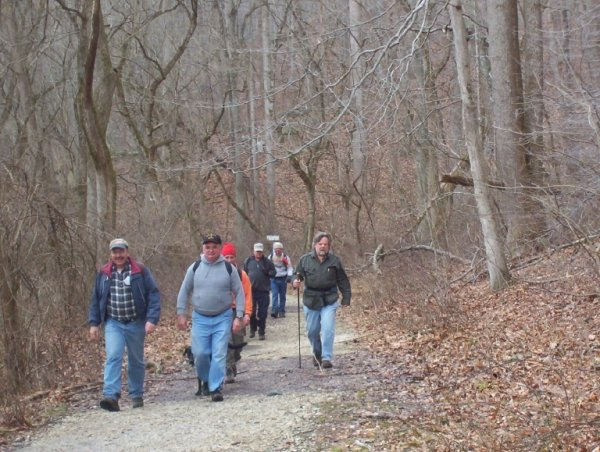 Along the Gunpowder Falls trail