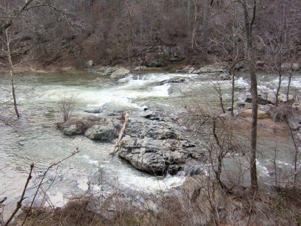 Rapids along Gunpowder Falls