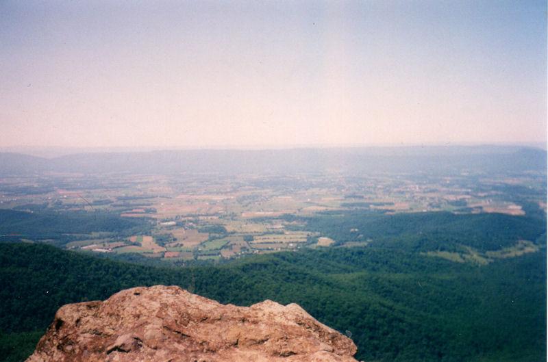 View from Hawksbill, SNP, VA