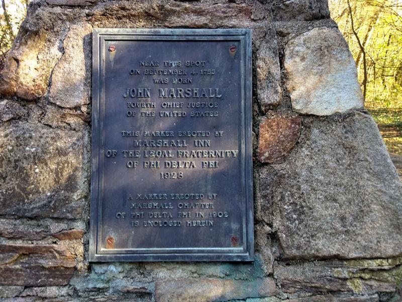Plaque on obelisk
