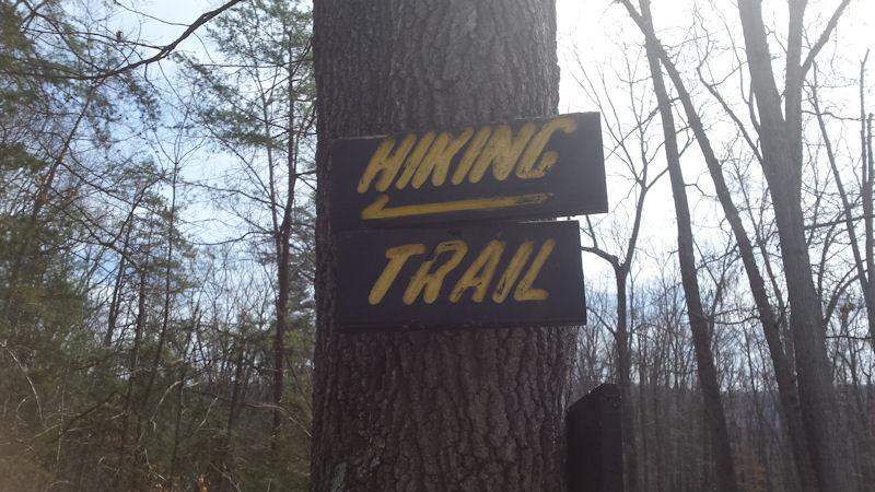 Sign @ KOA Harrisonburg, VA