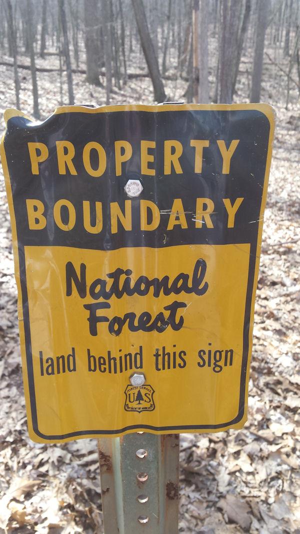 Another sign @ KOA Harrisonburg, VA