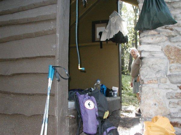 John G at Shelter 5