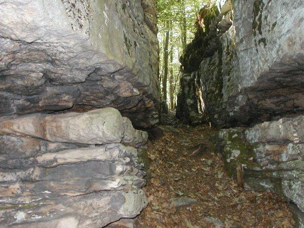 Rock maze around mile 49